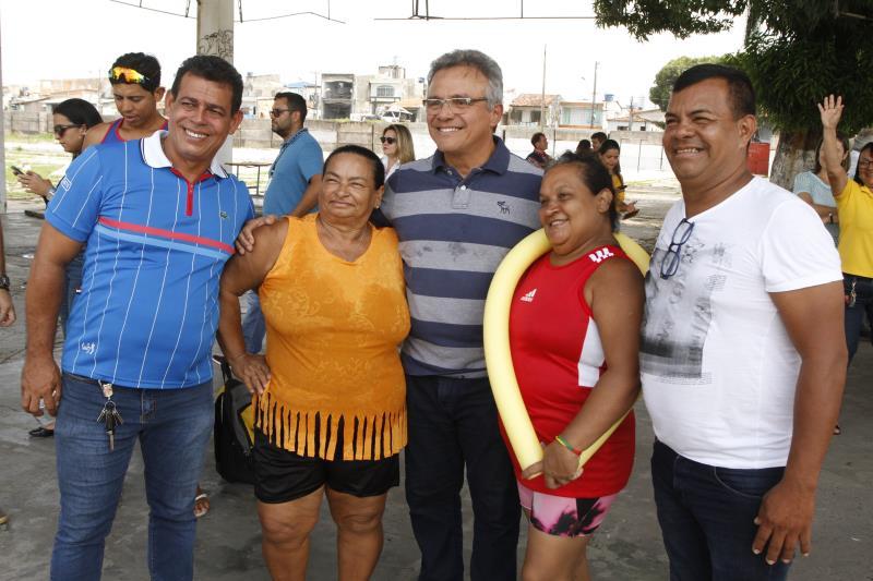 Na visita desta terça-feira, 17, o prefeito Zenaldo Coutinho teve a oportunidade de explicar aos moradores o que será feito na avenida Bernardo Sayão