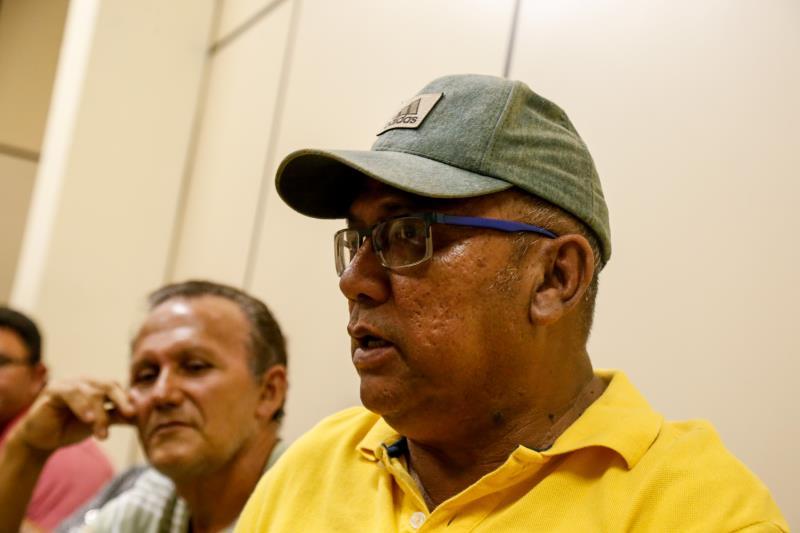 Edwaldo Araújo trabalha há 40 anos no Complexo do Jurunas e estava entusiasmado com a linha de crédito que vai ajudá-lo a construir um novo box