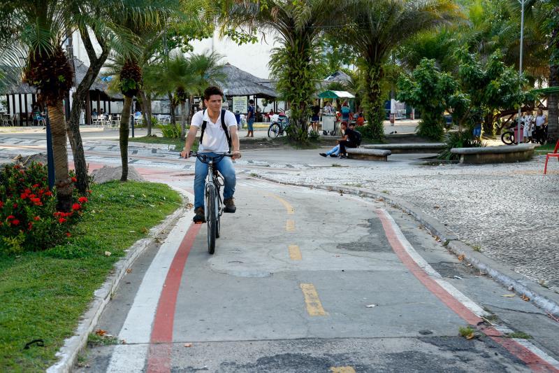 Malha cicloviária municipal saltou de 68,4 para 109,8 quilômetros entre os anos de 2013 e 2020