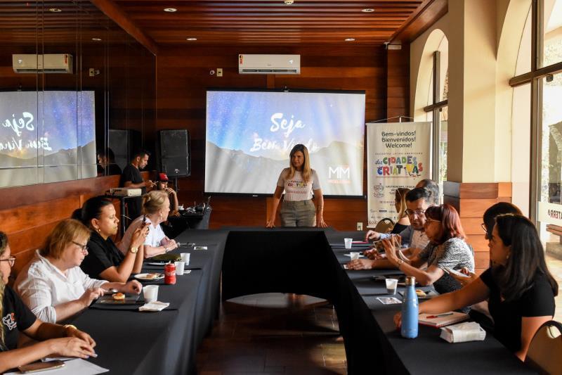 Na tarde desta quinta-feira, 3, representantes de Belém e de várias cidades do Brasil participaram de uma reunião administrativa de planejamento estratégico com objetivo de fortalecer Belém como cidade criativa
