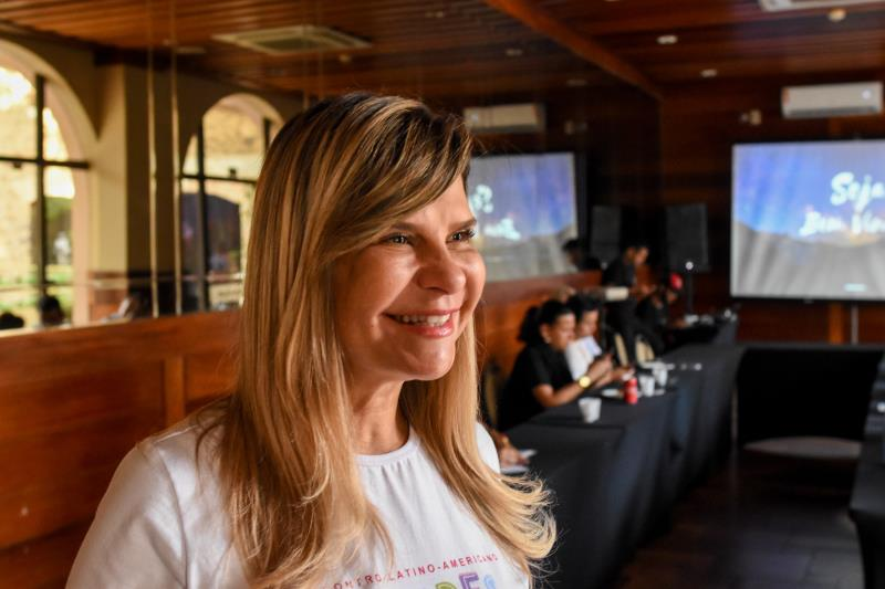 """""""Nós estamos recebendo com muito prazer todas as cidades do Brasil, representantes do cinema, design e gastronomia"""", destacou Cláudia Sadalla, diretora de negócios da Codem"""
