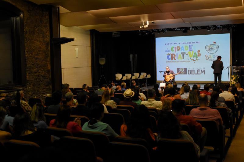 Abertura do Encontro Latino-Americano das Cidades Criativas contou com muita música, gastronomia e uma grande recepção aos representantes das cidades participantes