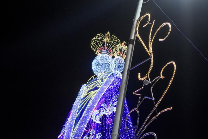 Iluminação da Santa - Doca