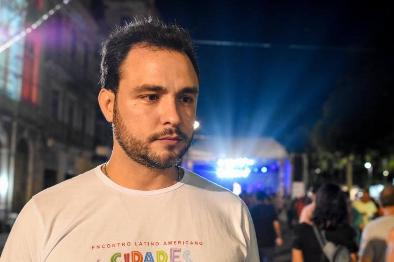Danilo - Programação cidades criativa da gastronomia Praça dos Estivadores