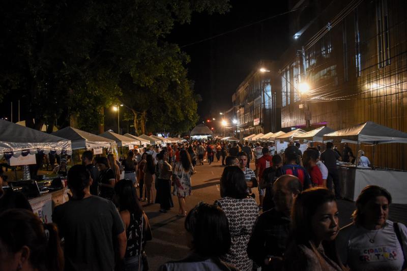 Programação cidades criativa da gastronomia Praça dos Estivadores