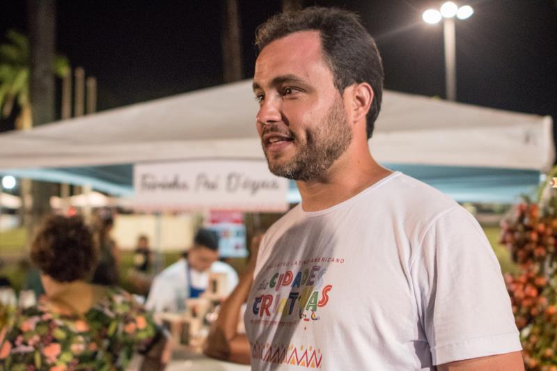 Para Danilo Soares, o saldo do Encontro Latino-americano das Cidades Criativas  foi muito positivo.