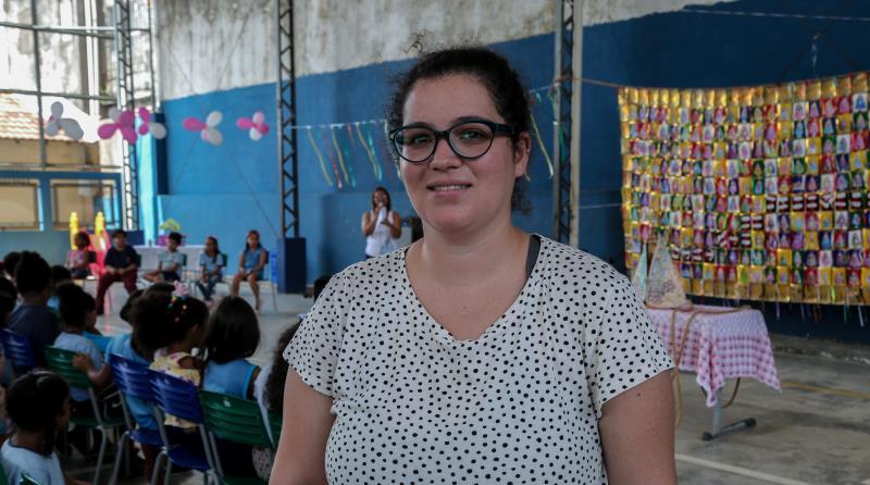 A paulista Maria Santana, que mora atualmente em Montreal, no Canadá, está visitando Belém pela primeira vez por conta de uma pesquisa de mestrado para a Universidade do Quebec sobre a participação das mulheres em peregrinações
