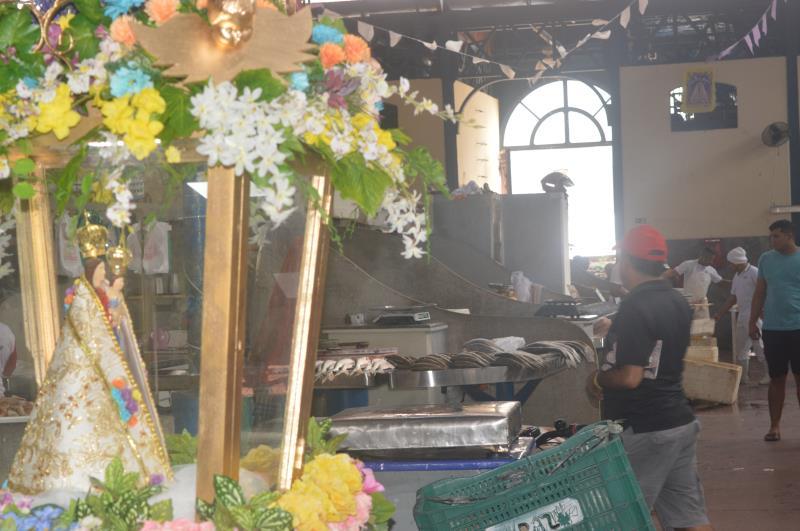 O Complexo do Ver-o-Peso recebe cerca de 20 mil pessoas por dia, movimento que chega a dobrar em épocas festivas, como o Círio