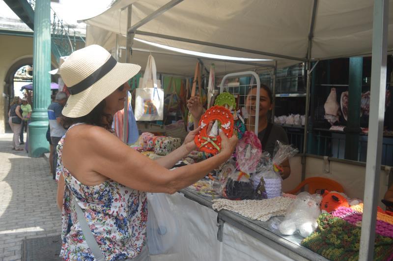 turista da capital paulista, Dirce Fulone