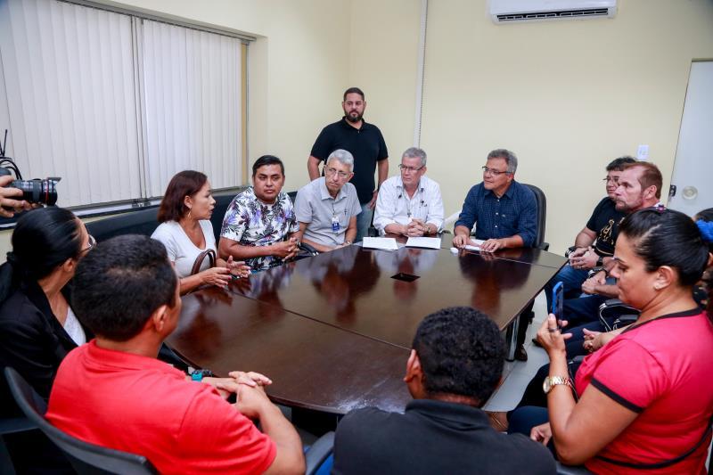 Prefeito Zenaldo anunciou que até a próxima semana as praças da Alegria, na Vila da Barca, e da Paz, no bairro de Fátima, passarão por reformas
