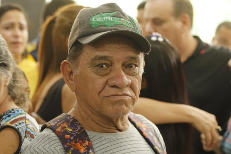 """""""Essa obra é muito importante, pois o atendimento vai ser cômodo para nós moradores. Não vamos precisar gastar passagem de ônibus"""", avaliou Amaral Miranda, de 77 anos"""