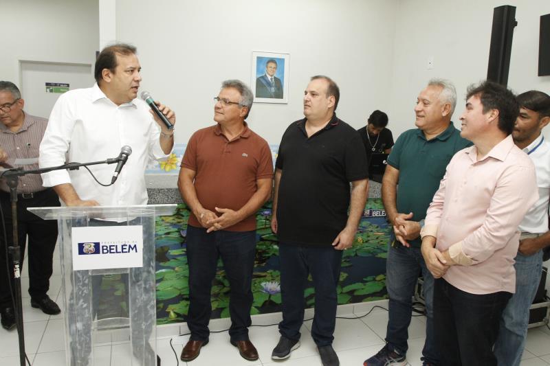 Com a participação dos moradores, a UBS foi inaugurada pelo prefeito Zenaldo Coutinho, juntamente com titulares de algumas secretarias municipais