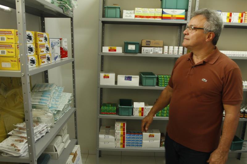 O prefeito Zenaldo Coutinho conferiu de perto as dependências da Unidade Básica de Saúde