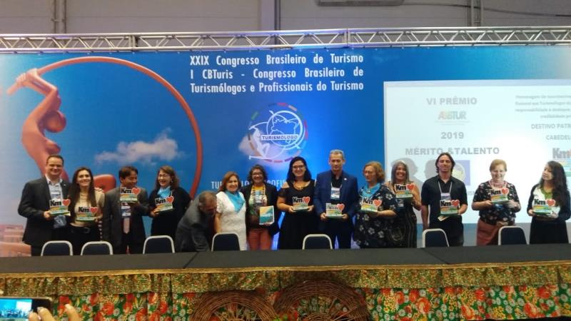O XXIX Congresso Brasileiro de Turismo foi realizado em Fortaleza (CE), de 3 a 5 de outubro