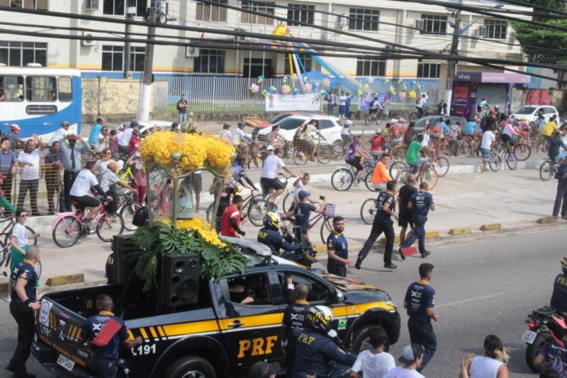 Localizada no trecho do percurso do traslado para Ananindeua, a primeira procissão oficial do Círio, na Avenida Almirante Barroso, a Secretaria de Saneamento (Sesan) se prepara todos os anos para homenagear a padroeira dos paraenses.