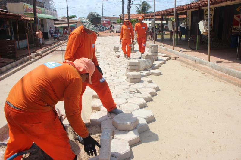Prefeitura de Belém investe R$ 1.215.000,00 na pavimentação