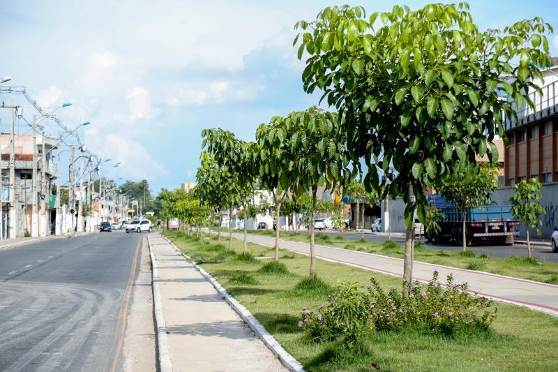 As obras de macrodrenagem na avenida Bernardo Sayão, entregues no ano passado, levaram urbanização e um novo paisagismo às comunidades daquela área periférica da capital, que reúne próximo de 55 mil pessoas