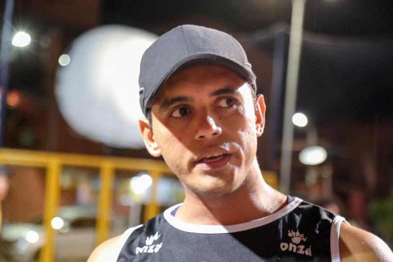 Wilson Filho - Reforma da quadra de vôlei da vida da Barca