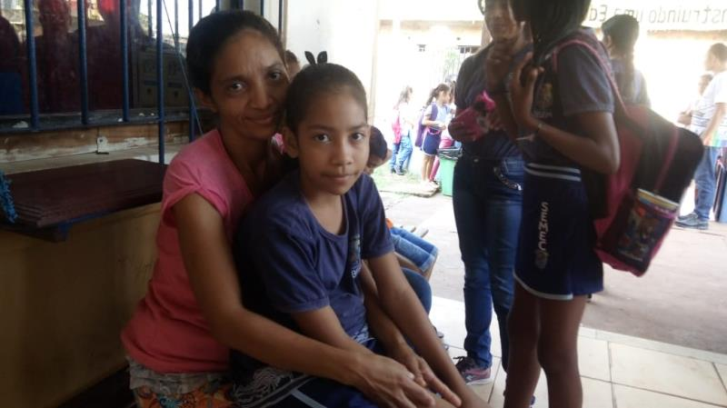 Muitos pais aprovaram a avaliação, como a dona de casa, Cláudia Cristina Silva dos Santos, mãe da tímida Ana Carolina da Silva Santos, de 10 anos, estudante do 5° ano.