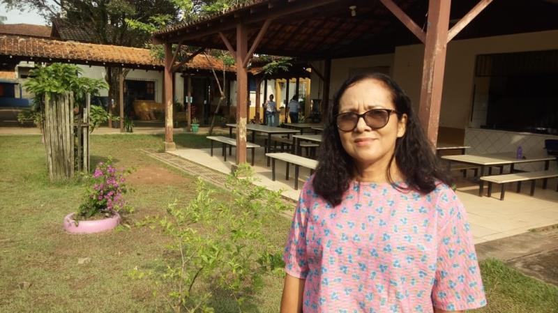 A professora Rosa Monteiro, que atua há 23 anos na rede de ensino, conta que agora é só colher os frutos de tudo que foi trabalhado em sala de aula.