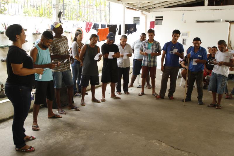 2019.10.30 - PA - Belém - Brasil: Aniversário do Centro POP.