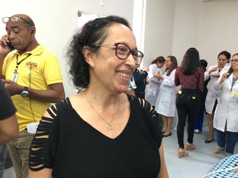 Marcia Dias, servidora do Grupo de Planejamento do Pronto Socorro