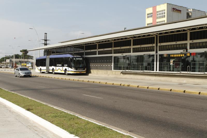 As viagens dos ônibus articulados do BRT em Belém seguem suspensas até o dia 30 de julho, assim como todos os terminais e estações.