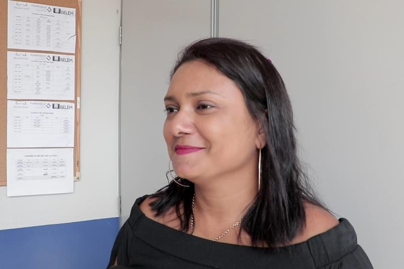 Professora Sueanne Freitas, coordenadora de linguagens