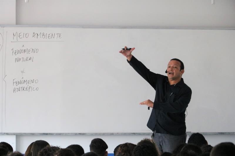 No último domingo (3), os participantes fizeram as provas de redação, ciências humanas e linguagens.