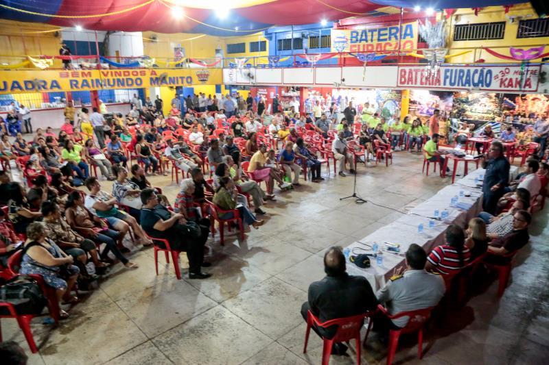 Reunião Pública de Retomada das Obras Sub Bacia 1 da Bacia da Estrada Nova