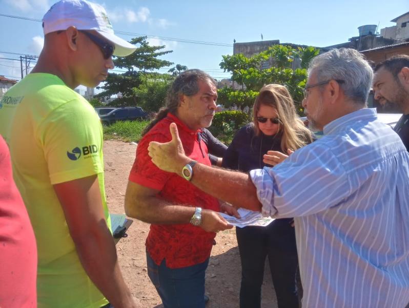 As obras do Programa Sanear Belém seguem até agosto de 2020 e vão beneficiar 44.162 habitantes dos bairros do Jurunas e da Cidade Velha