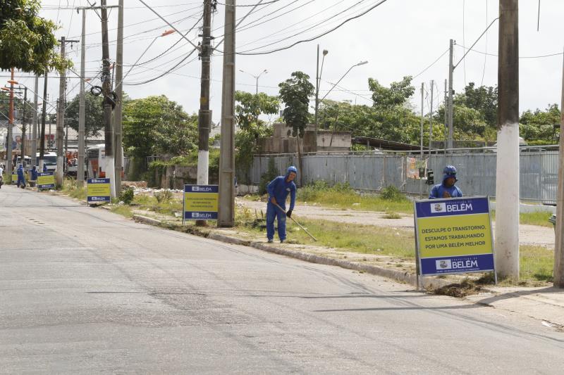 A Prefeitura Municipal de Belém mantém intensa as atividades da política urbana da capital e na sequência de ações na capital.