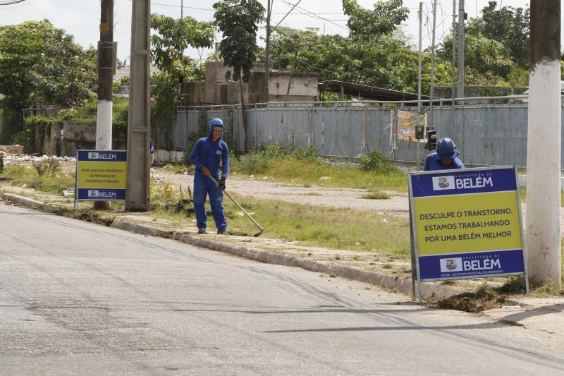 Prefeitura inicia urbanização de trecho da Bernardo Sayão.