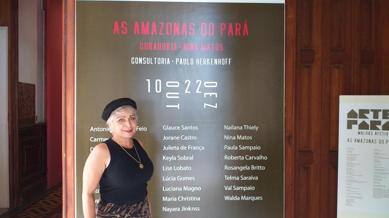 Darcilene Batista, professora formadora de artes da Semec, é organizadora do evento