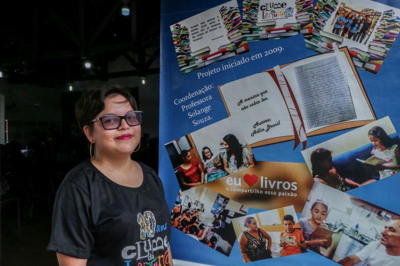Muitos ex-alunos da escola participaram da comemoração, como Gabriela Ferreira Ribeiro, de 19 anos, que enfrentou uma leucemia quando criança e teve a companhia dos livros enquanto estava internada.