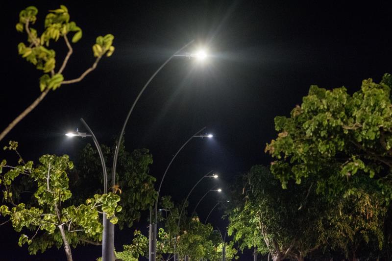 Com a renovação no Portal da Amazônia, totalizam mais de dois mil novos pontos com iluminação em LED.