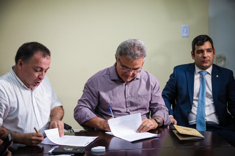 A Prefeitura de Belém e o Acnur Brasil firmaram um termo de parceria nesta segunda-feira, 18