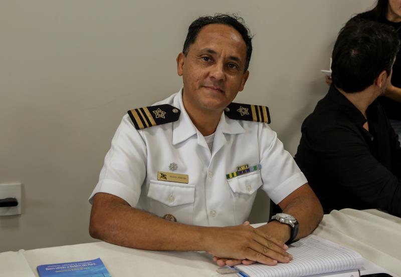 Renato Ferreira, Chefe do departamento de segurança do tráfego aquaviário da capitania dos portos