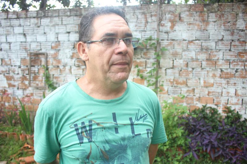 Elias Santos, coordenador do Ama
