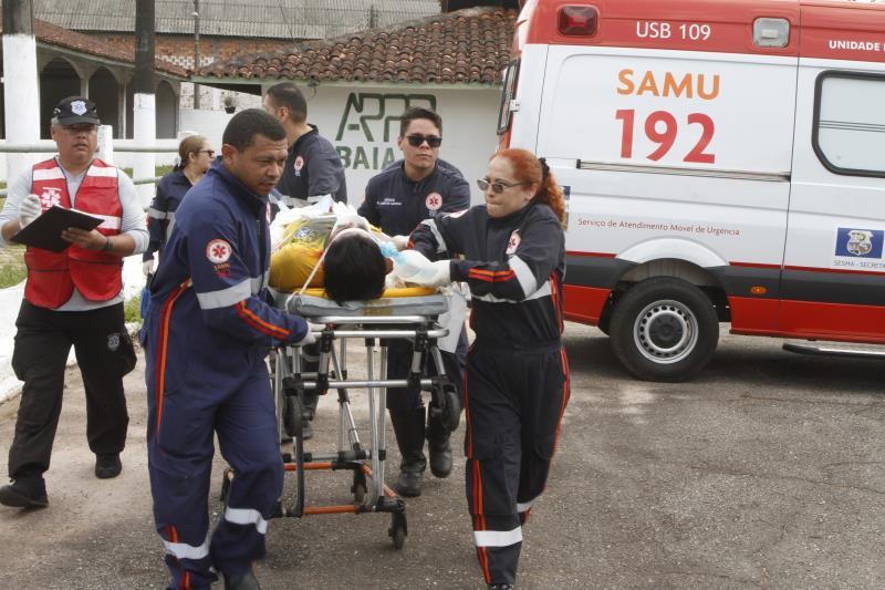 2019.11.30 - PA - Belém - Brasil: VII Jornada de Incidentes com Múltiplas Vítimas. Simulação de acidente no Parque de Exposições do Entroncamento.