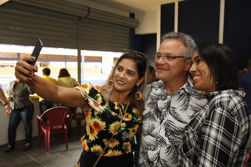 2019.12.01 - PA - Belém - Brasil: Prefeito Zenaldo Coutinho reinaugura a Aldeia Amazônica.