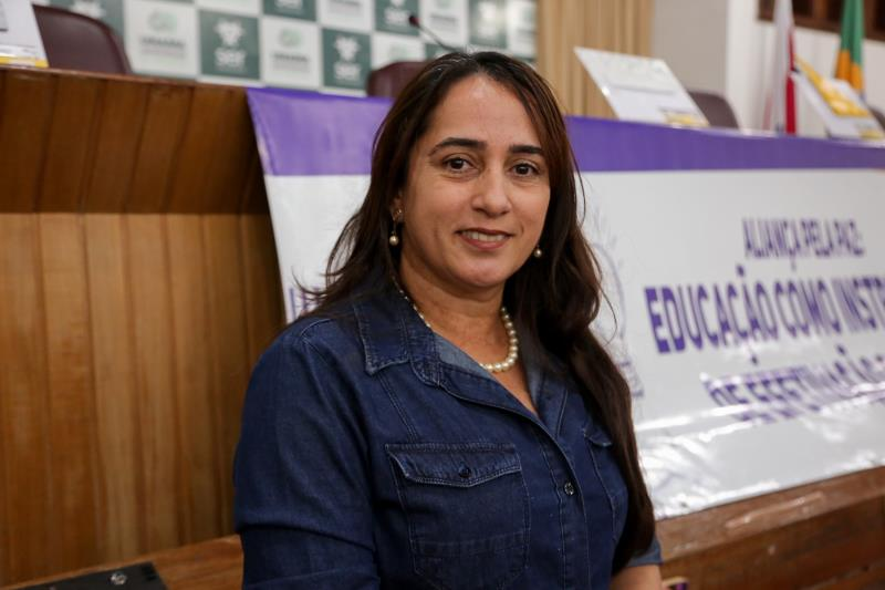 Ana Célia Carvalho, diretora de Educação da Rede Municipal, explicou que o III Trilhas do Conhecimento culmina todos os trabalhos realizados durante o ano nas escolas municipais