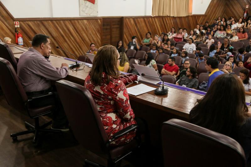 De acordo com Núcleo de Projetos da Semec, os projetos desenvolvidos pela Secretaria dentro das escolas têm o objetivo de qualificar professores e alunos da rede municipal de ensino, primando pela educação de qualidade do município
