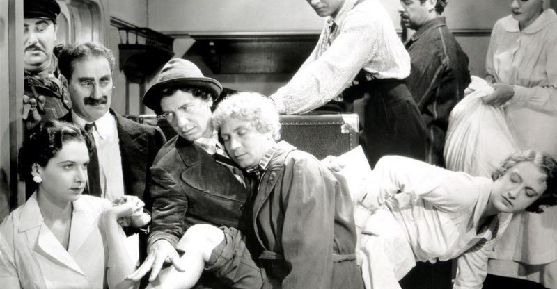 """O clássico dos Irmãos Marx, """"Uma Noite na Ópera"""", é uma das atrações da Mostra de Filmes de Comédia"""