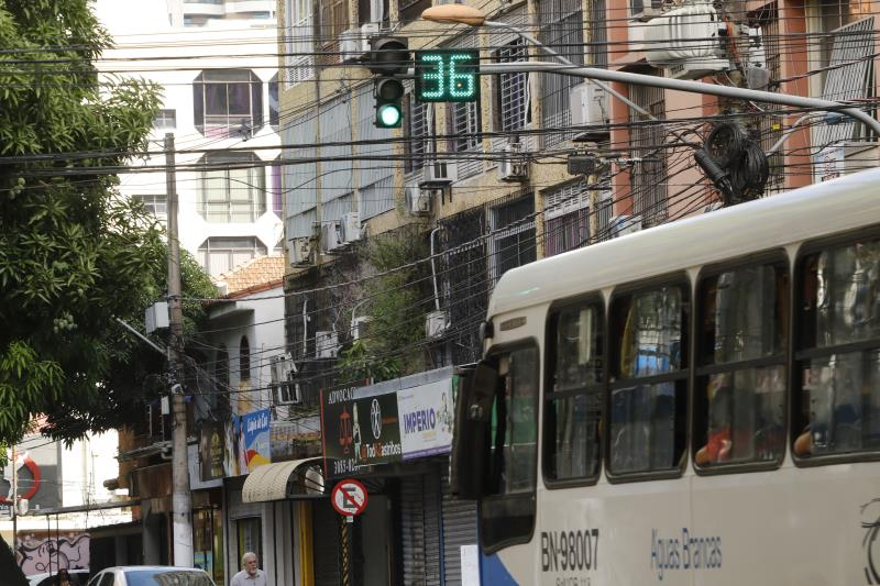 Travessa Quintino Bocaiuva com avenida Braz de Aguiar também recebe o contador