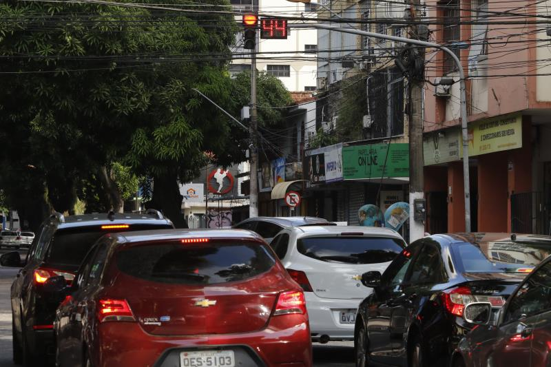Na travessa Quintino Bocaiuva com avenida Braz de Aguiar os condutores já contam com a tecnologia