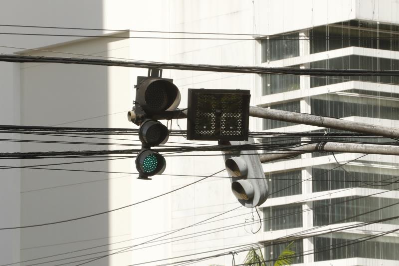 Na avenida Visconde de Souza Franco com rua Antônio Barreto o aparelho já foi instalado em em breve o sistema estará funcionando