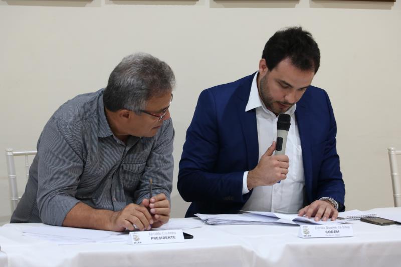 O prefeito de Belém, Zenaldo Coutinho, e o presidente da Codem, Danilo Soares, aprovaram a metodologia e cronograma do Plano Diretor