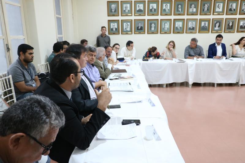 Depois de aprovar a ata da reunião anterior, o Conselho assistiu à apresentação de Ana Cristina Kaliff, urbanista da Codem, que expôs a metodologia do Plano