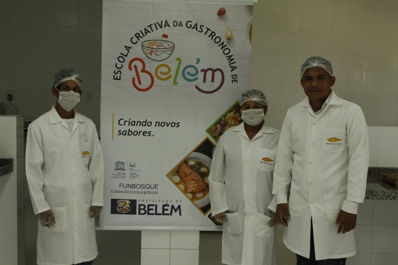 A Escola Criativa de Gastronomia tem parceria com a Universidade da Amazônia (Unama)